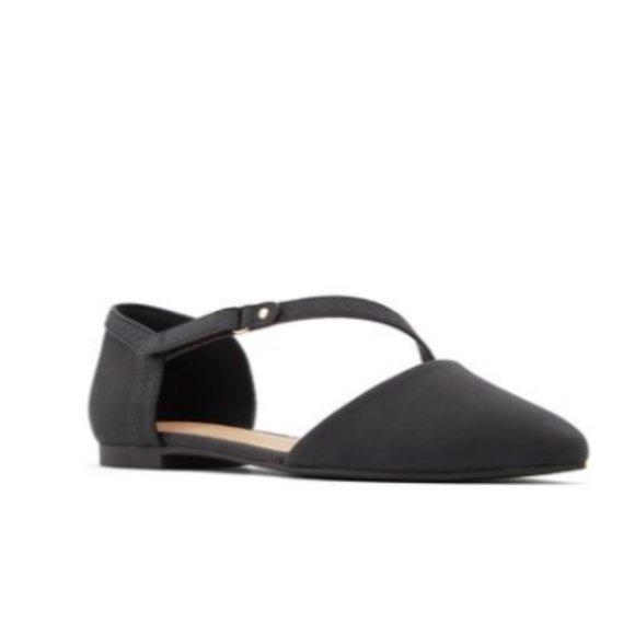 BRAND NEW womens ballerina pointy toe strap flats